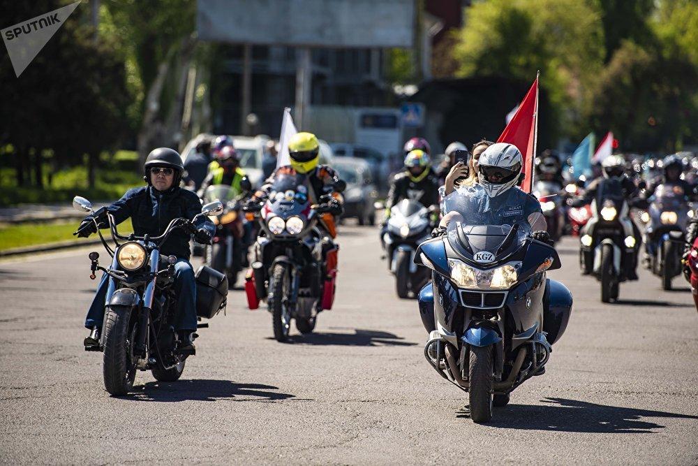Официальное открытие мотосезона-2018 в Бишкеке
