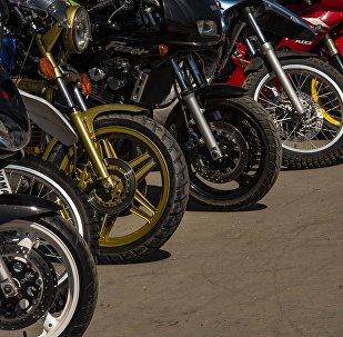 Мотоцикл. Архивдик сүрөт