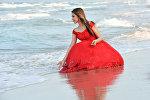 Архивное фото погибшей в ДТП победительницы международного конкурса Miss Universe Beauty 2018 в номинации Missis World Сании Шакировой