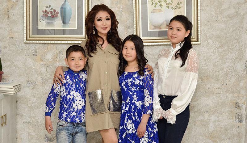 Миссис мира — 2018 Сания Шакирова с детьми