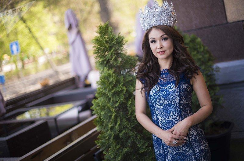 Миссис мира — 2018 Сания Шакирова на фотосессии