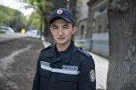 Өзгөчө кырдаалдар министрлигинин Бишкек шаардык башкармалыгынын Куткаруу кызматында иштеген Теңиз Турсунбеков