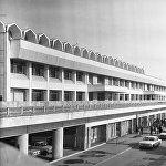 Манас эл аралык аэропортунун алды, 1981-жыл