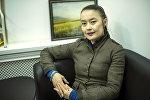 Супара Чуңкурчак этно-комплексинин аткаруучу директору Назгүл Турганбаева