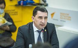 Главный врач Центра государственного санитарно-эпидемиологического надзора Бишкека Артур Буюклянов