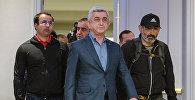 Армениянын премьер-министр Серж Саргсяндын архивдик сүрөтү