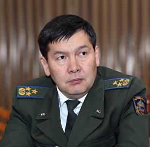 Архивное фото главы ГКНБ Идриса Кадыркулова