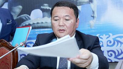 Кандидат на пост генерального прокурора КР Откурбек Жамшитов