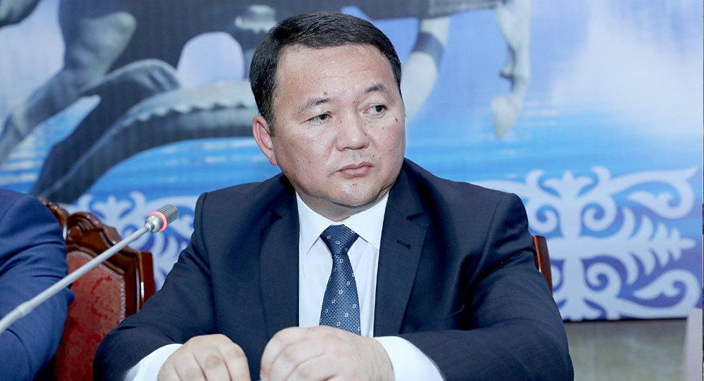 Архивное фото генерального прокурора КР Откурбека Жамшитова