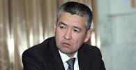 Өзгөчө кырдаалдар министри Нурболот Мирзахмедов. Архив