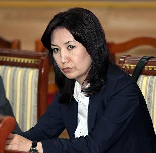 Архивное фото экс-министра юстиции КР Айнур Абдылдаевой