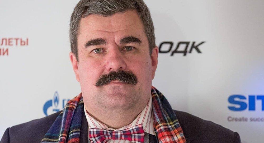 Военный эксперт Алексей Леонков. Архивное фото
