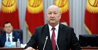 Кыргызстандын вице-премьери Жеңиш Разаковдун архивдик сүрөтү