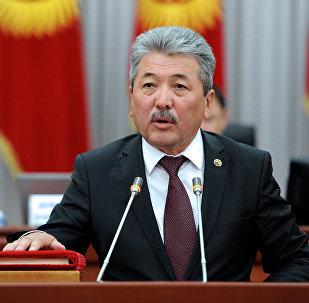 Экс-министр финансов Кыргызской Республики Адылбек Касымалиев. Архивное фото