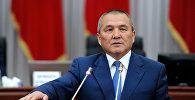 Транспорт жана жолдор министри Жамшитбек Калилов. Архивдик сүрөт