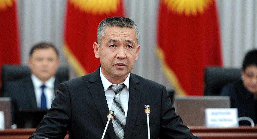 Назначенный на должность полномочного представителя аравительства в Джалал-Абадской области Нурболот Мирзахмедов. Архивное фото
