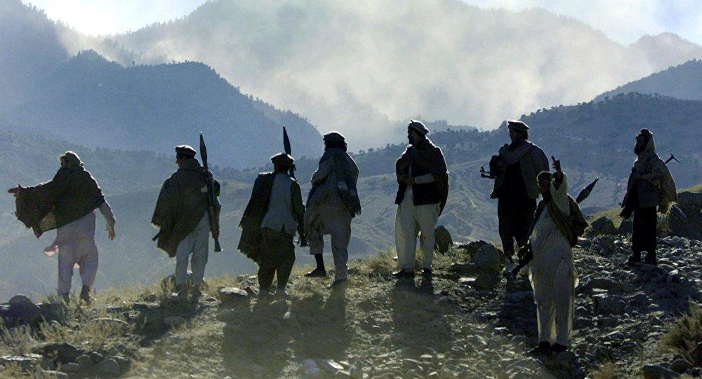 Бойцы-моджахеды. Архивное фото