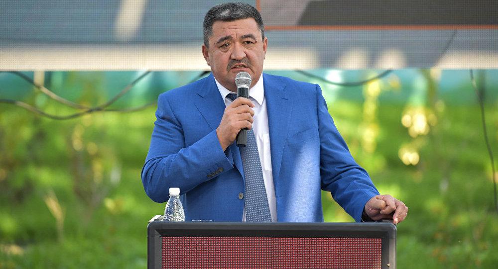 Мэр города Бишкек Албек Ибраимов. Архивное фото
