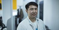 Председатель Сообщества мотоциклистов Кыргызстана Аскат Сеитбеков