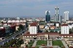 Вид на Грозный. Архивное фото