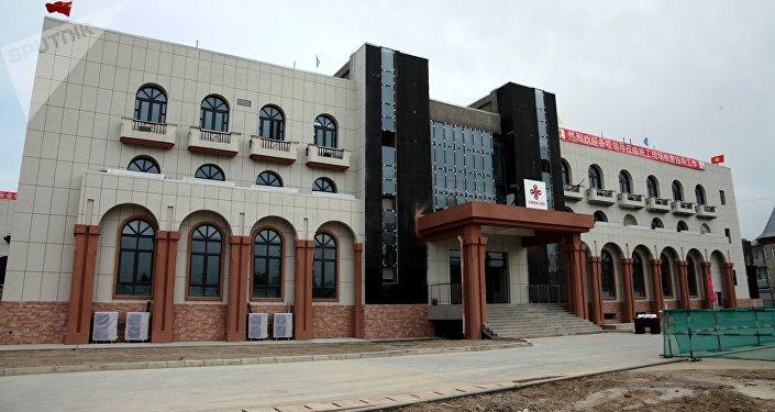 Больница строится в микрорайоне Ак-Тилек