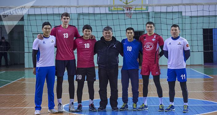 Кыргызстандын волейбол боюнча курама командасы. Архив