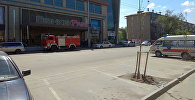 Оцепление торгово-развлекательного центра Бишкек парк