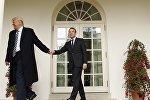 Визит президента Франции Эммануэля Макрона в США