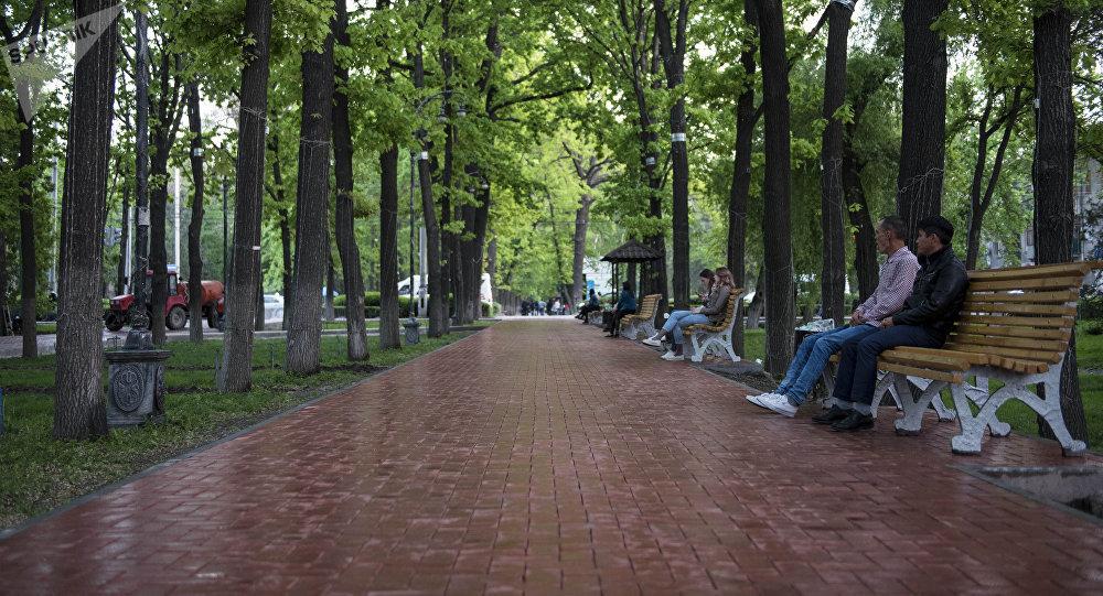 Проспект Эркиндик в Бишкеке. Архивное фото