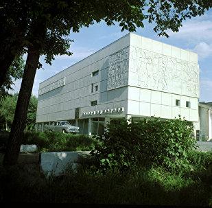 Мемориальный Дом-музей М.В.Фрунзе в городе Фрунзе (ныне - Бишкек).