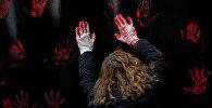 Протесты против семейного насилия. Архивное фото