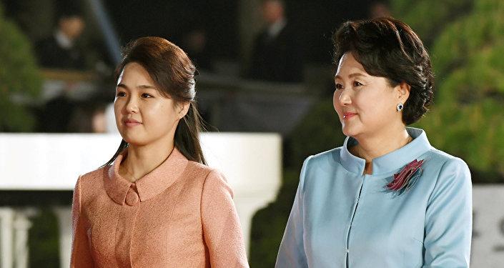 Түндүк менен Түштүк Кореянын биринчи айымдарынын жолугушусу