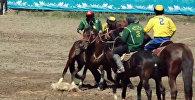 Финал турнира по кок-бору в честь Дня Бишкека