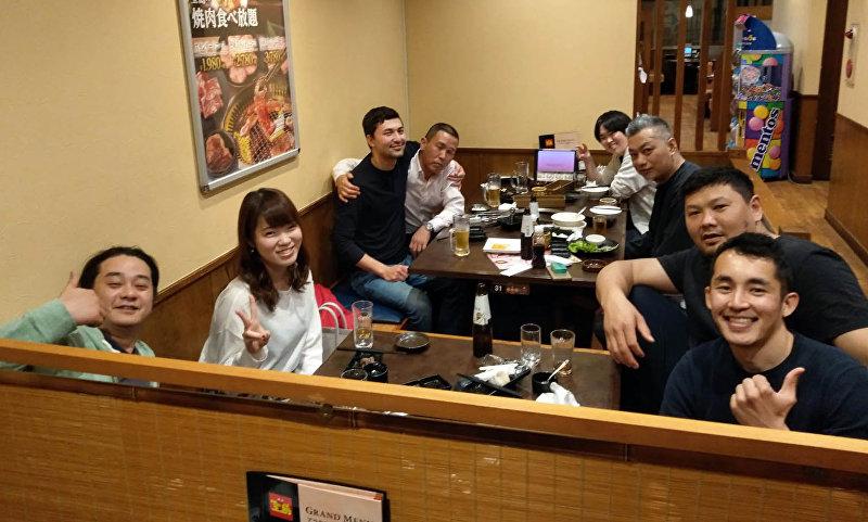 Повар в японском ресторане Асылбек Асаналиев, работающий в городе Цукуба