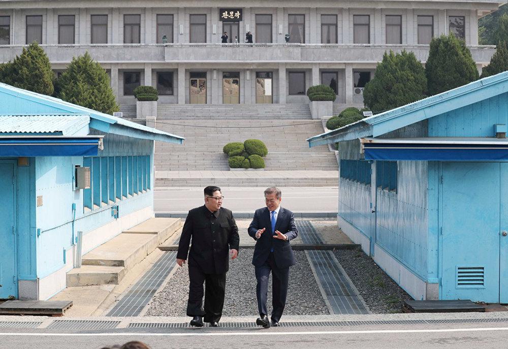 Встреча лидеров КНДР и Южной Кореи