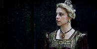 Актриса Клейр Картврайт в образе персонажа из спектакля Макбет