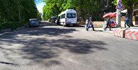 Открытие дороги на проспекте Эркиндик в Бишкеке