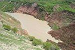Сузак районундагы жер көчкү