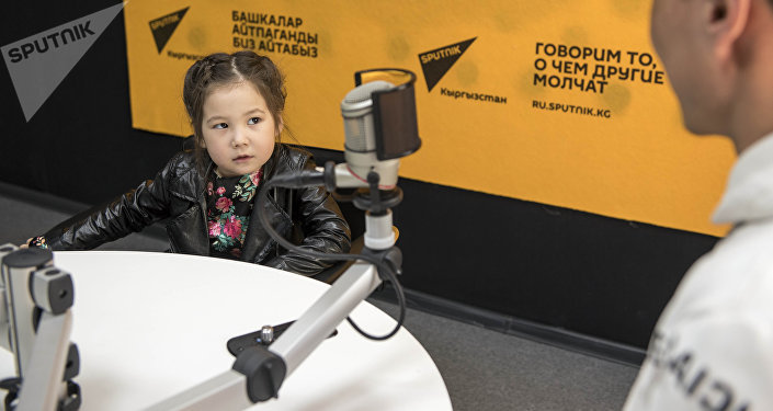 4-летняя фотомодель Айыма Бактыбек кызы