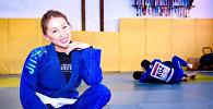 Кыргызстандык спортчу кыз Малика Боотаева