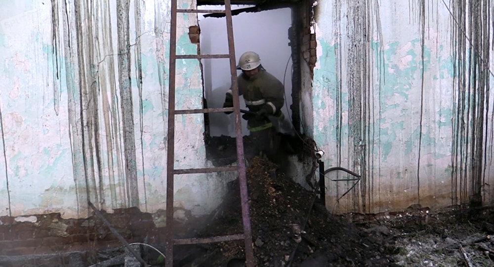 Пятеро детей погибли при пожаре в частном доме Новосибирской области