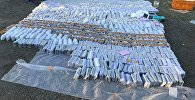 Задержанная антикоррупционной службой ГКНБ контрабанда на 30 миллионов сомов