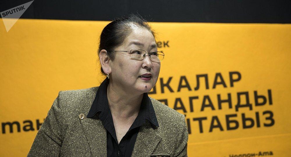 Архивное фото экс-вице мэра Бишкека Айгуль Рыскуловой