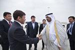 В Бишкек с официальным визитом прибыл президент Олимпийского совета Азии Шейх Ахмад Фахад Аль-Сабах