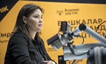 Жаман кеселден жапа чеккен балдар менен иштеген психолог Бермет Иманалиева