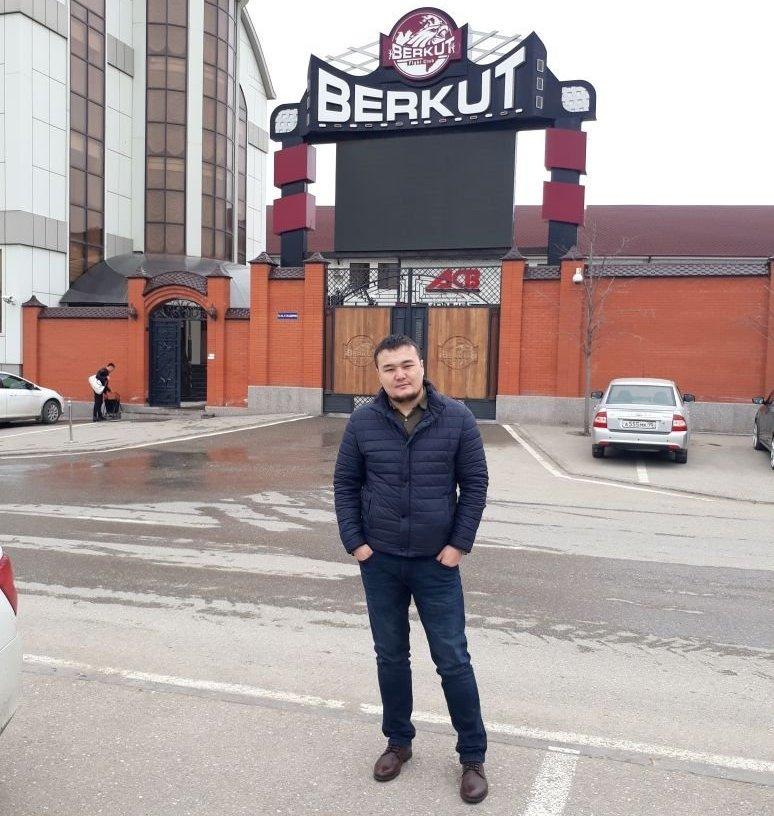 Руководитель промоутерской компании Mara Team Management Марат Бекмуратов