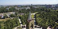 Парк имени Даира Асанова в Бишкеке. Архивное фото