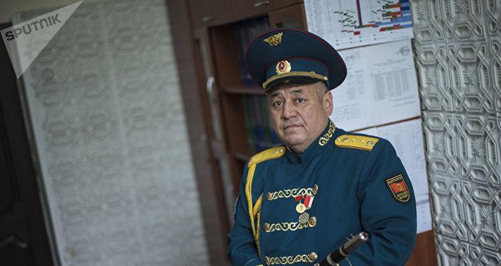 Ак кеме тасмасынын башкы каарманы бакыраң көз, баео Нургазы Сыдыгалиев