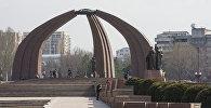 Вид на площадь Победы в Бишкеке. Архивное фото