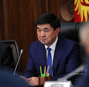 Премьер-министр КО Мухаммедкалый Абылгазиев. Архивное фото